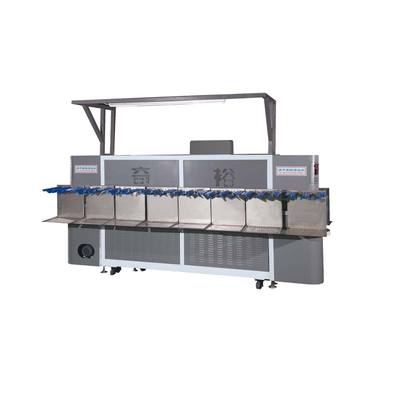QIYU QY-300 Double layer drying steaming soft activation machine[anterior section]